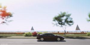 Subaru SVX Surfers Paradise