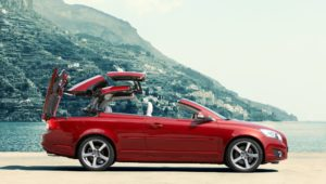 Volvo C70 coupe convertible