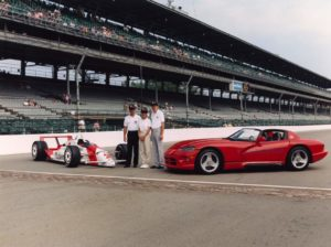 1991 Indianapolis 500 pace car viper
