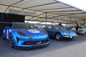 alpine GT and 110a