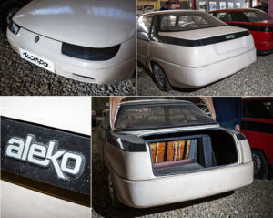 (export name in the EU — ALEKO, (Latin calque from ALEKO — the Lenin Komsomol Automobile plant)