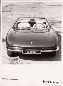 Porsche 911 Roadster Bertone '66 specs data gt