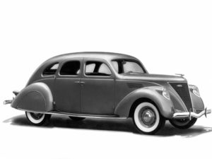 1936 Lincoln Zephyr 4-door Sedan (900-902) 12272 made