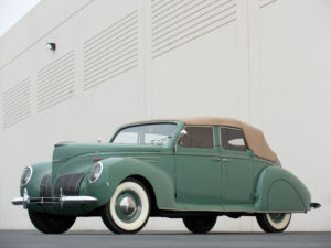 1939 Lincoln Zephyr Convertible Sedan (96H-74) 302 made