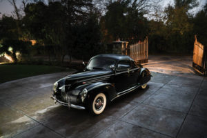 Lincoln Zephyr coupe '38 data specs history design