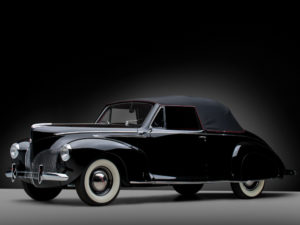 1940 Lincoln Zephyr Convertible Coupe (06H-76) 700 made