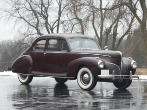1941 Lincoln Zephyr Club Coupe (16H-77) 3750 made