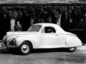 1941 Lincoln Zephyr Coupe (16H-72A 72B) 1150 made