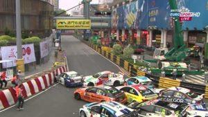 Lisboa corner Macau GP