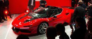 Ferrari J50 data specs GT history