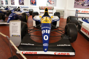 Donington Park museum Williams FW15C