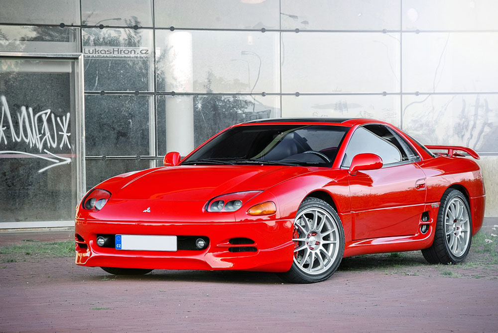 second generation Mitsubishi 3000GT VR-4