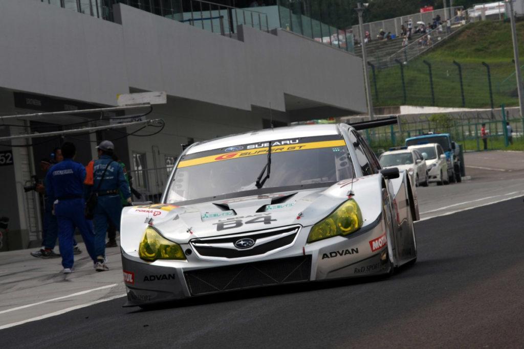 SUbaru Legacy GT300 assetto corsa