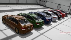 Subaru Legacy B4 BM assetto corsa mod