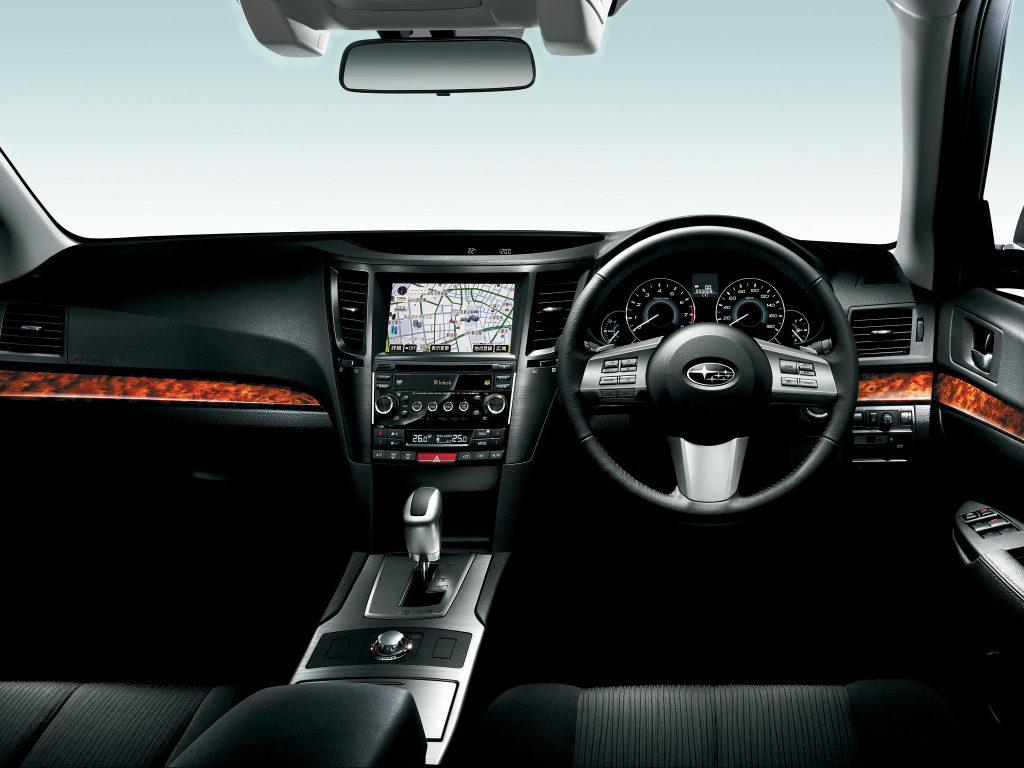 Subaru legacy BM dash