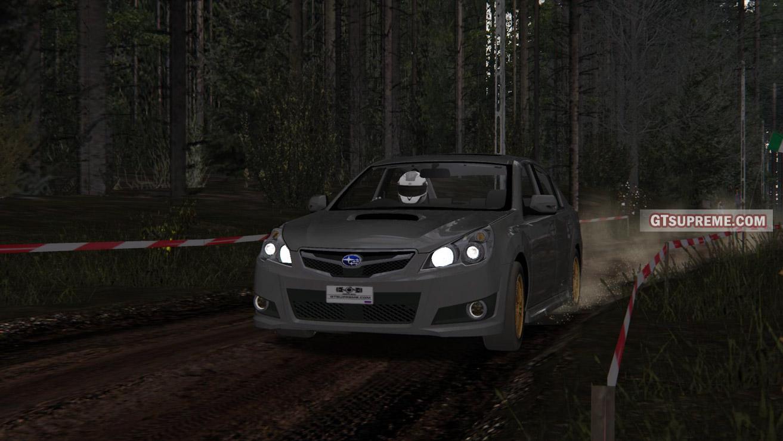Subaru Legacy B4 2 5GT (BM) 2009-2012 (+Assetto corsa mod)