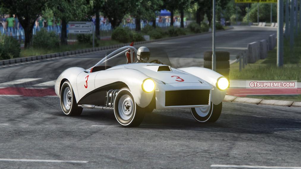 ZIL 112C '1961 - USSR roadster (+Assetto Corsa mod)