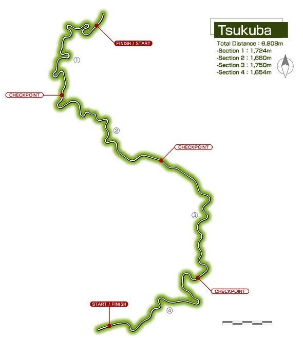 Tsukuba fruit line assetto corsa