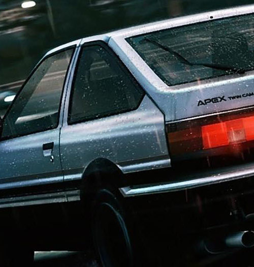Initial D touges to Assetto Corsa