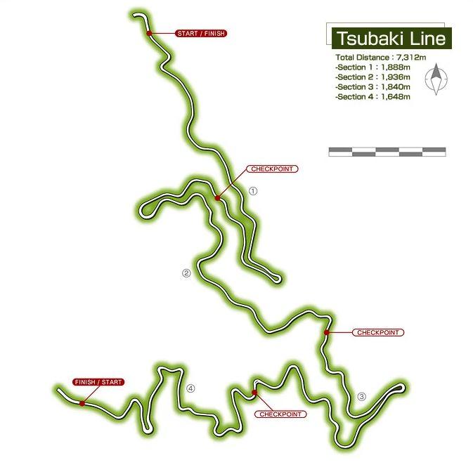 tsubaki line map download