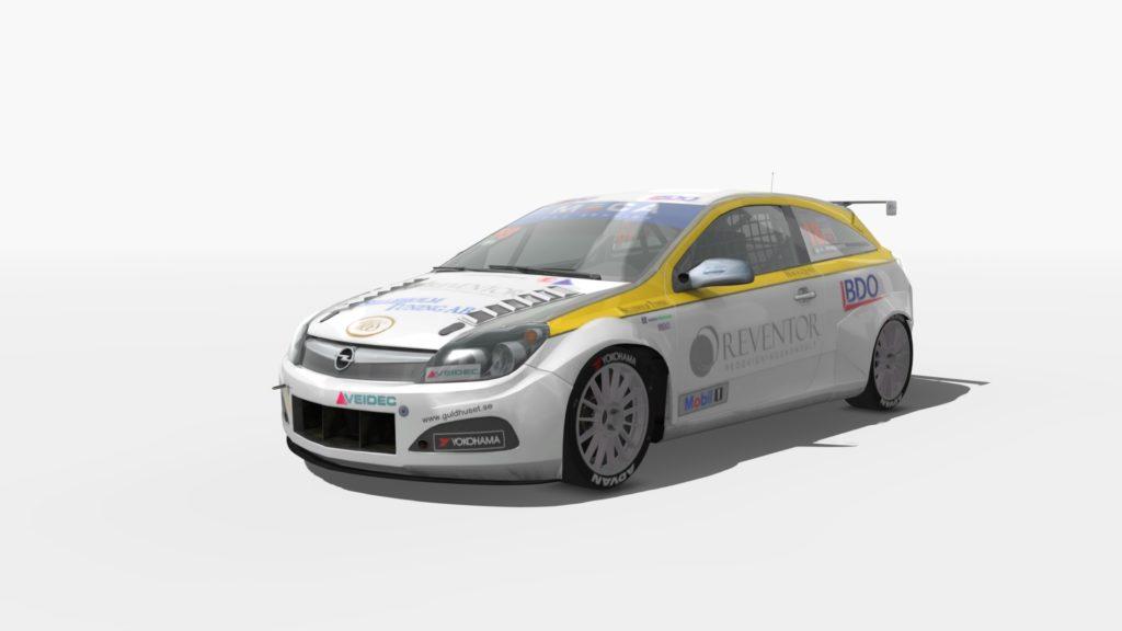 Opel AStra wtcc stcc assetto crosa mod