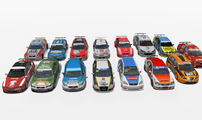 WTCC STCC 2005-2009 mod for Assetto Corsa ver 1.0 – 15 cars – pack #1
