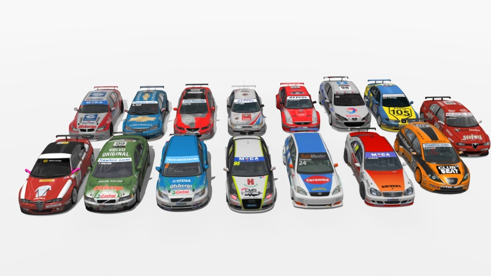 WTCC STCC pack assetto corsa download