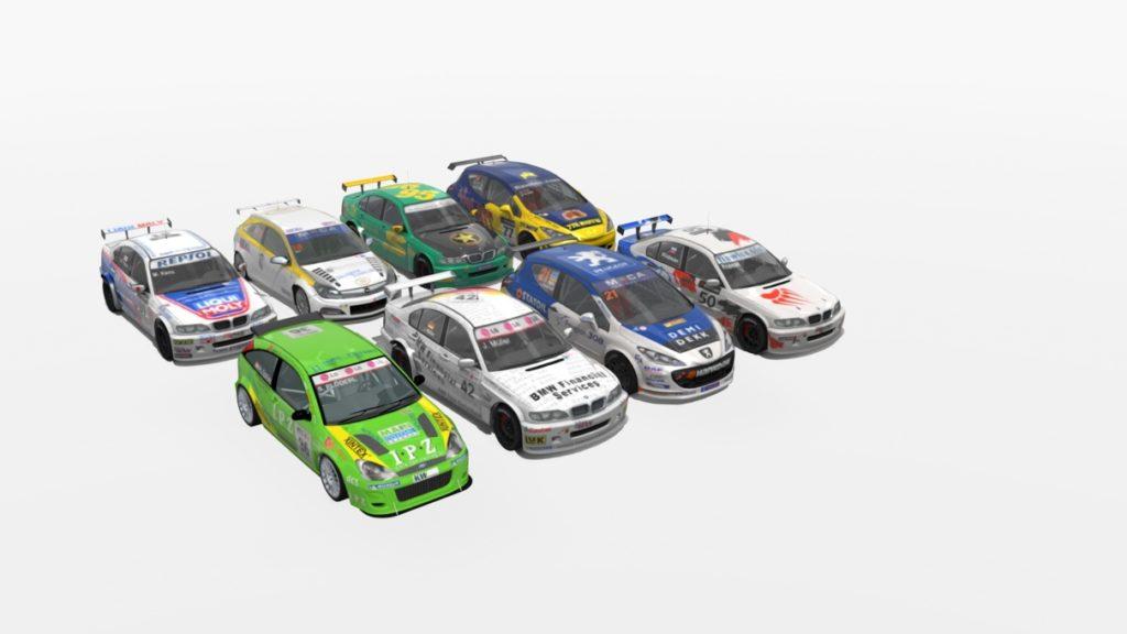 wtcc stcc mod assetto corsa pack 2