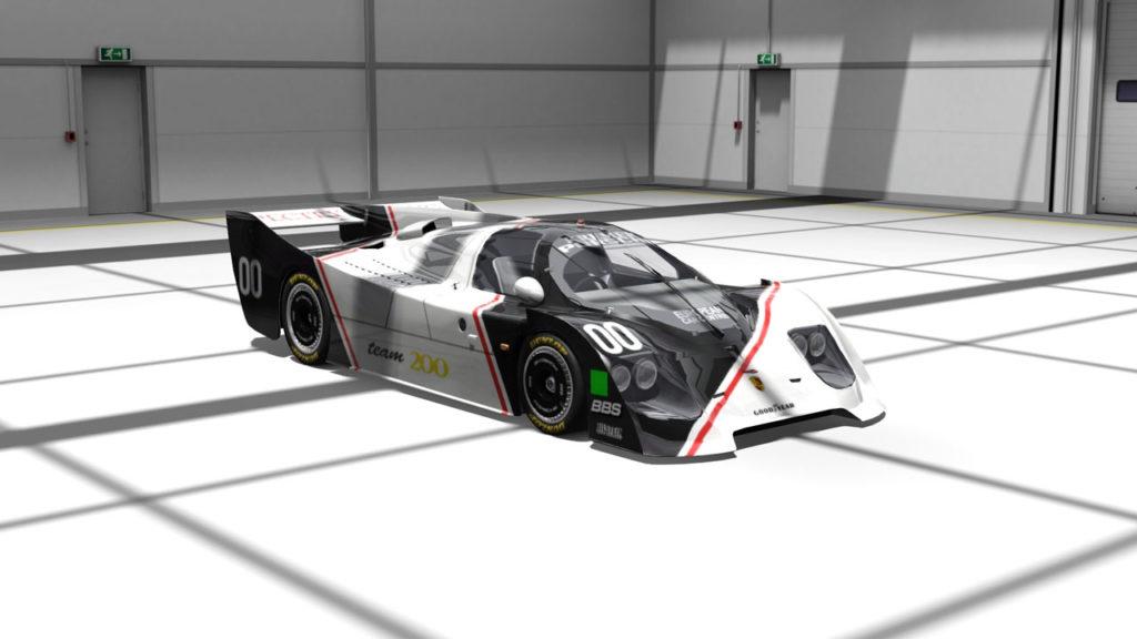 Kremer CK5 chassis #003 assetto corsa