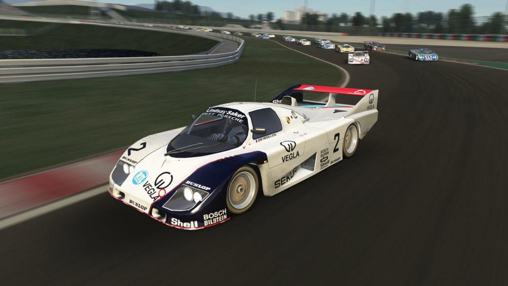 Porsche 936C group C assetto corsa