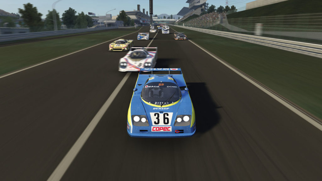 Dome RC82 group C assetto corsa mod