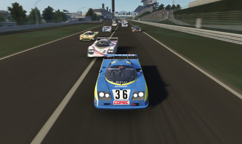 Group C 1980s mod for Assetto Corsa (updating 21.10.2021)