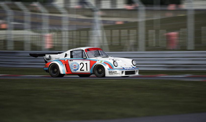 Porsche 911 Carrera RSR 2.1 Turbo 1974 for Assetto Corsa. Ver 1.0