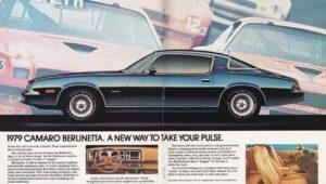 rare 1979 Chevy Camaro Berlinetta