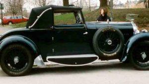 Bentley 4.5l Drophead Coupe