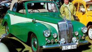 Daimler Counques Century Drophead Coupe De Ville