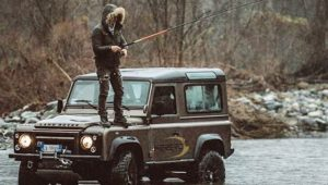 Land rover fishing
