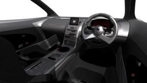 isuzu 4200R interior