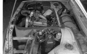ex. of Elsbett engine installed
