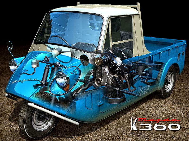 Kia Near Me >> Mazda K360 '1959-1971 (delightful) - GT Supreme