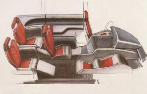 Marc Deschamps design Bertone genesis