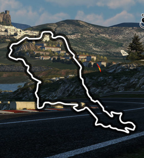 Circuito de la Sierra (original 🎮 track)