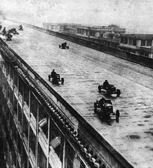 Lingotto factory building track
