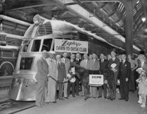 1934 Pioneer_Zephyr_Dawn_to_Dusk_Club