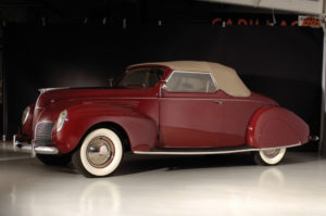 1938 Lincoln Zephyr Convertible Coupe (86H-760(B)) 600 made