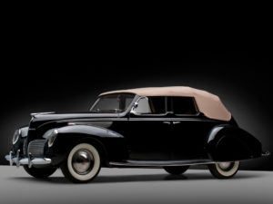 1938 Lincoln Zephyr Convertible Sedan (86H-740) 461 made