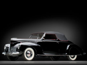 1939 Lincoln Zephyr Convertible Coupe (96H-76) 640 made