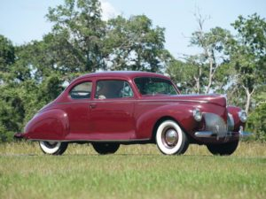 1940 Lincoln Zephyr Club Coupe (06H-77) 3500 made