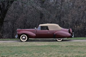 1940 Lincoln Zephyr Continental Cabriolet (06H-56) 350 made