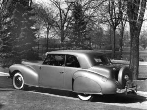 1940 Lincoln Zephyr Continental Club Coupe (06H-57) 54 made